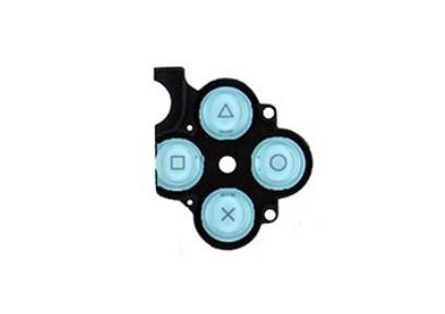 PSP 3000 Button Rubber Ice Blue