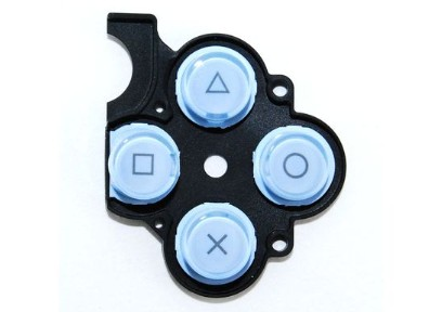 PSP 2000 Slim Button Rubber (Blue)