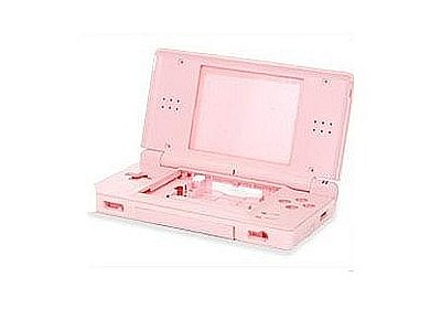 NDSL Complete Housing Shell Case Pink