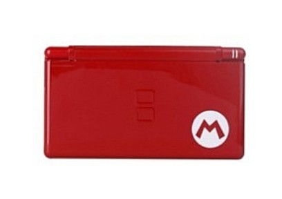 NDSL Complete Housing Shell Case Red Mario