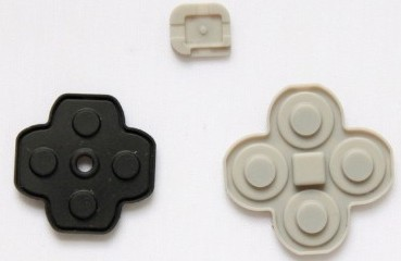 3DS Button Rubber Set