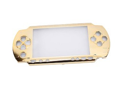 PSP 1000 Faceplate Front Cover (Gold)