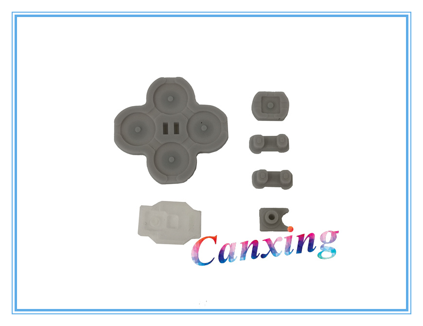 Buttons Conductive D-Pad Rubber 5-Piece Set for NS Switch Right Joy-con
