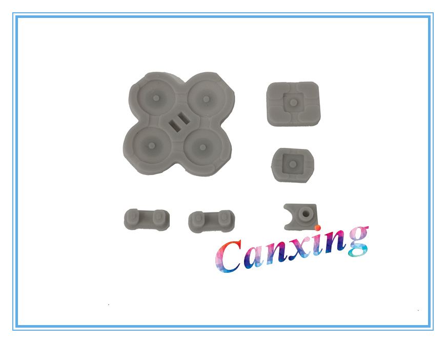 Buttons Conductive D-Pad Rubber 5-Piece Set for NS Switch Left Joy-con