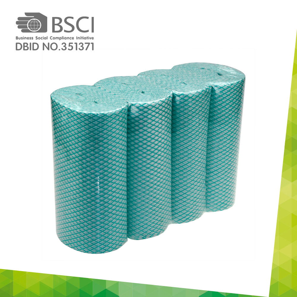 chemical bonding non-woven cleaning cloth in perforated roll-13
