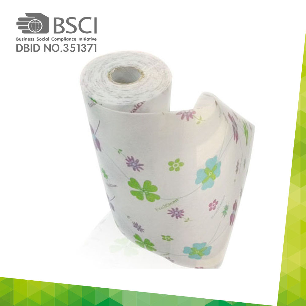 chemical bonding non-woven cleaning cloth in perforated roll-16
