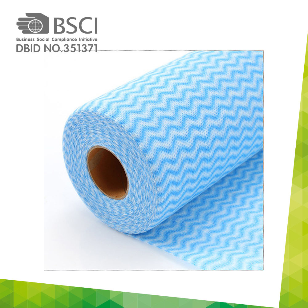 spunlace non-woven cleaning cloth in perforated roll-13_0008