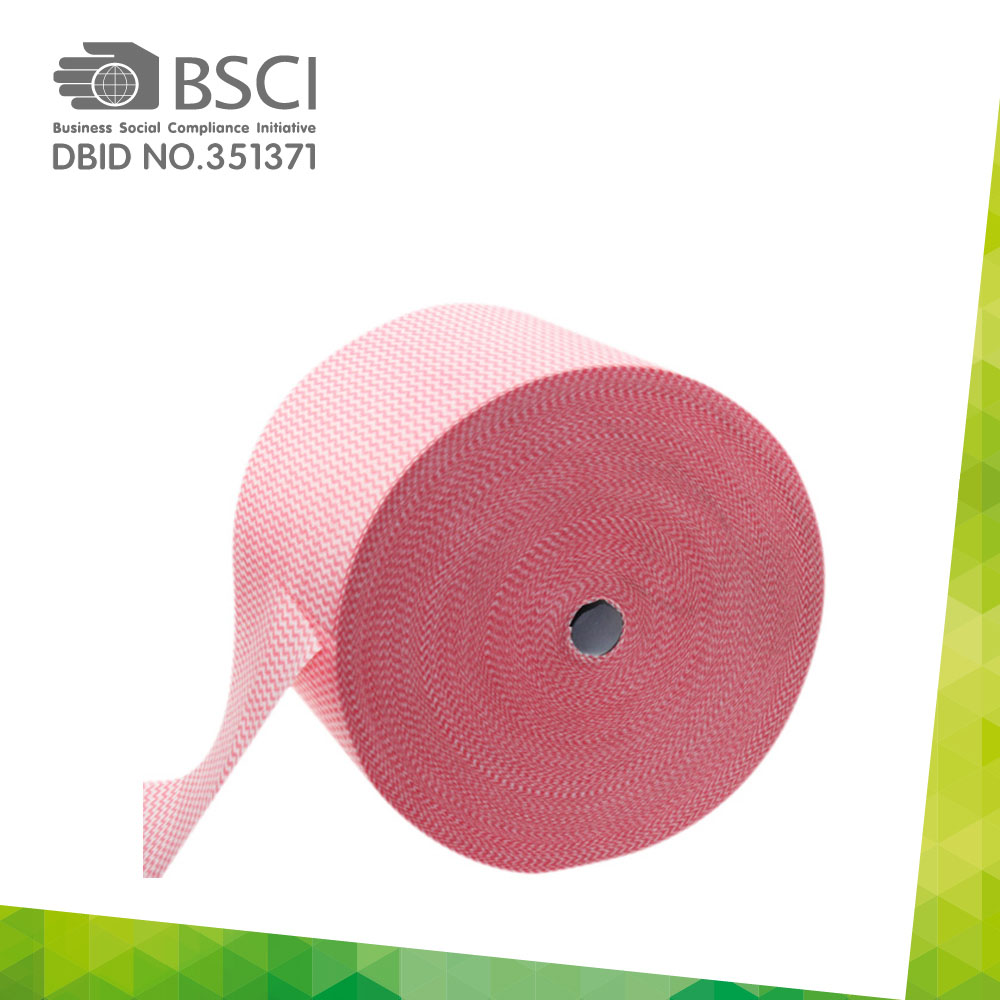 spunlace non-woven cleaning cloth in perforated roll-14_0003
