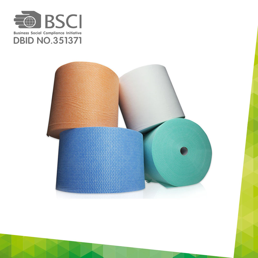 spunlace non-woven cleaning cloth in perforated roll-14_0009