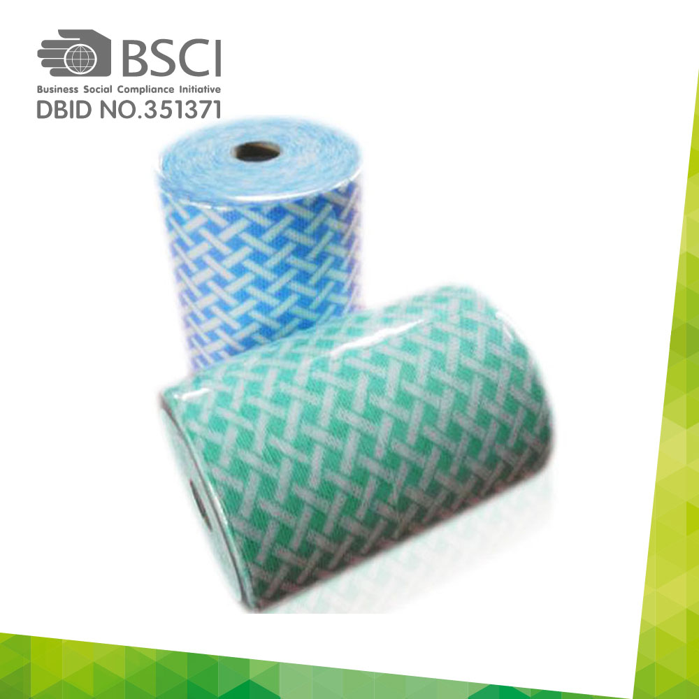 spunlace non-woven cleaning cloth in perforated roll-15_0003