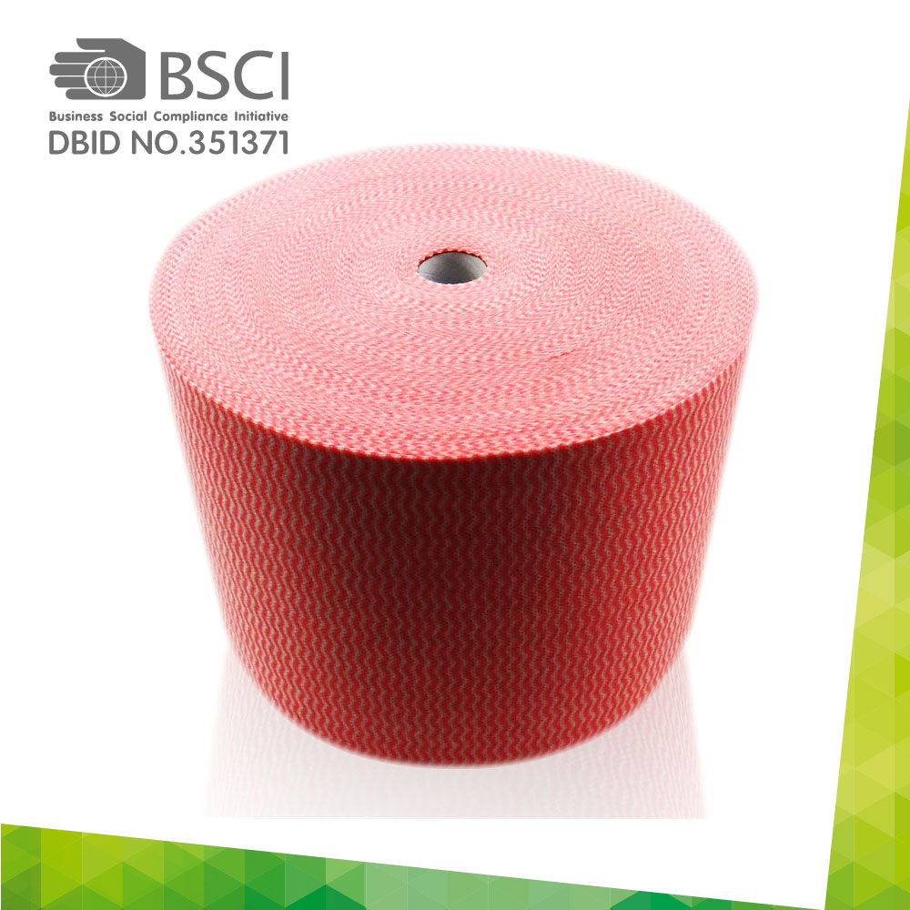spunlace non-woven cleaning cloth in perforated roll-52