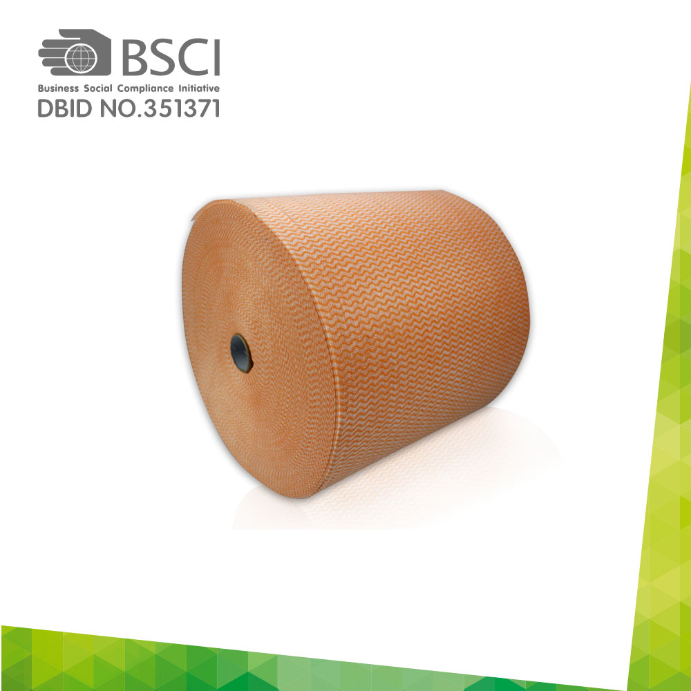 spunlace non-woven cleaning cloth in perforated roll-78