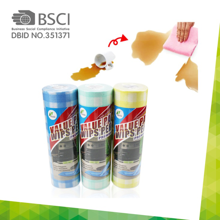 Spunlace Cleaning Cloth Roll-02