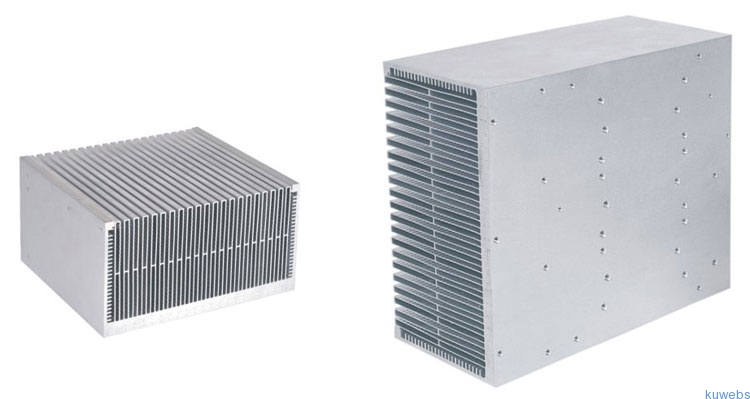 Swaged Fin Heat Sinks