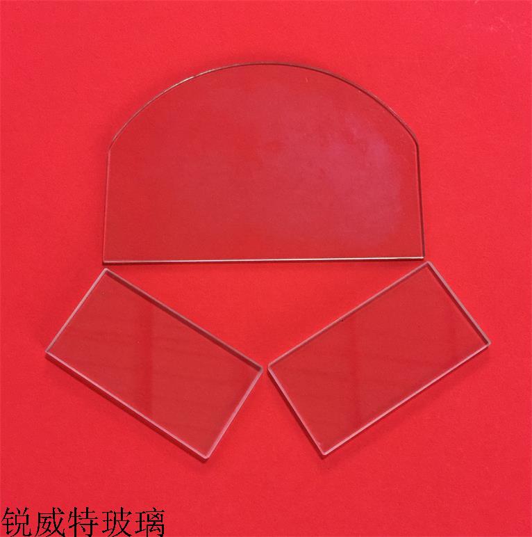 异形玻璃定制、高温玻璃防护罩玻璃