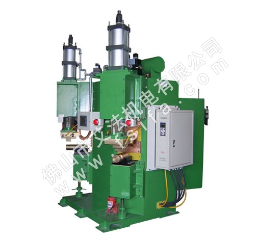 Three phase secondary rectifier welding machine (double head)Contact welder