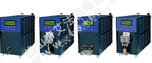 Capacitor energy storage table type series precision welding machine