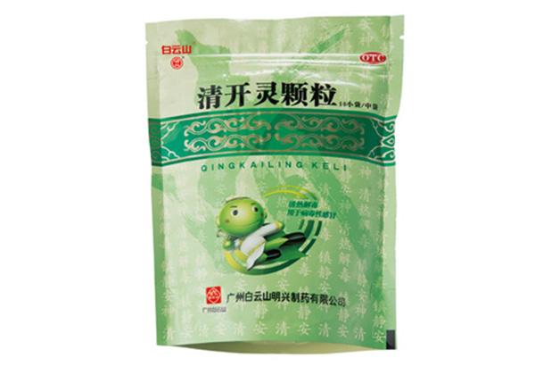 Qing Kai Ling particles 3g prescription 12 small bags