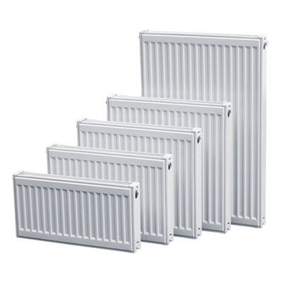 Compact ventil middle connection panel radiators