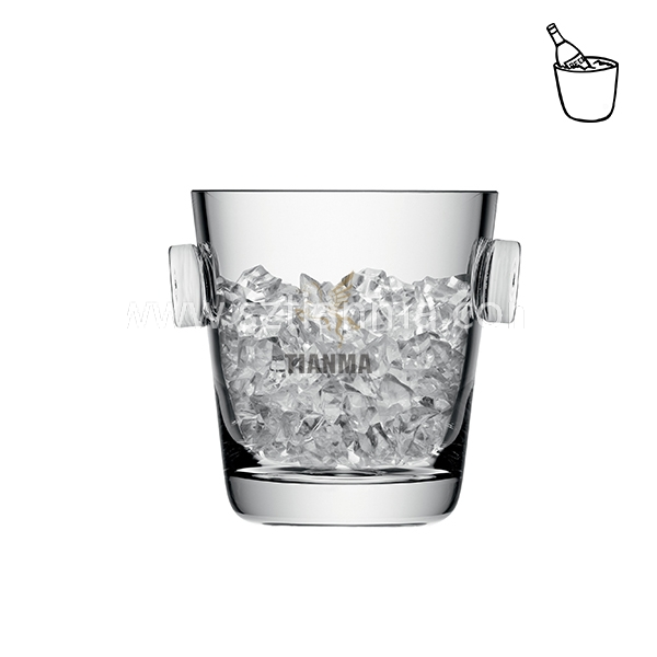 high clear acrylic ice bucket