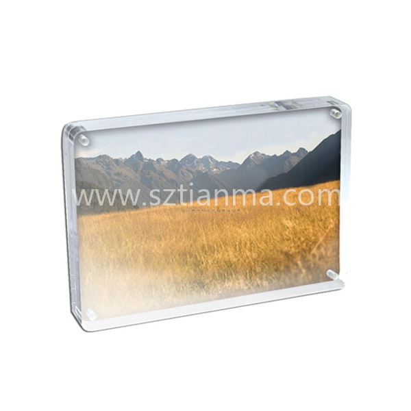 Acrylic frame extralarge for display