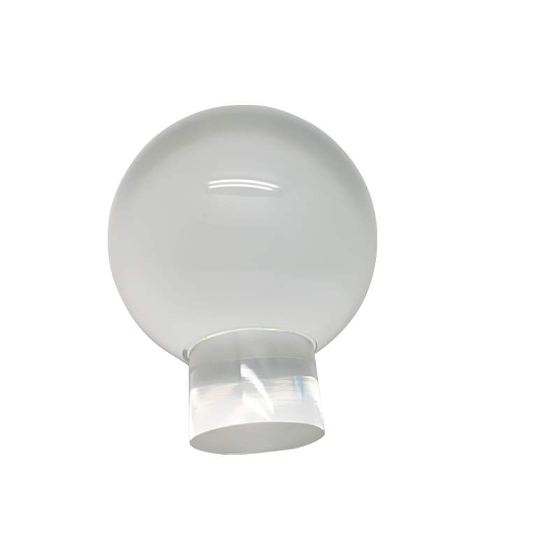 Lucite Clear Poly Resin Ball