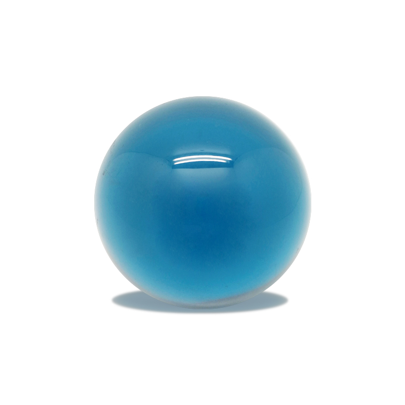Light Blue Polyester Resin Ball