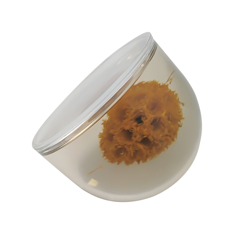 Lucite paperweight custom Real Flower Epoxy Balls