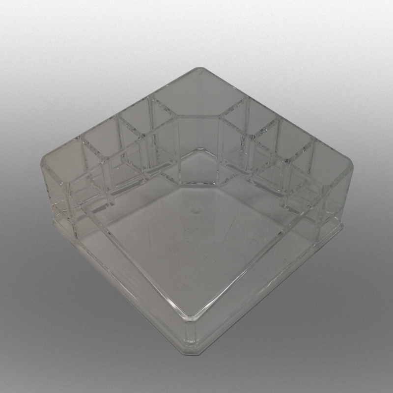 Acrylic Clear Cube of Cosmetic Cases Boxes