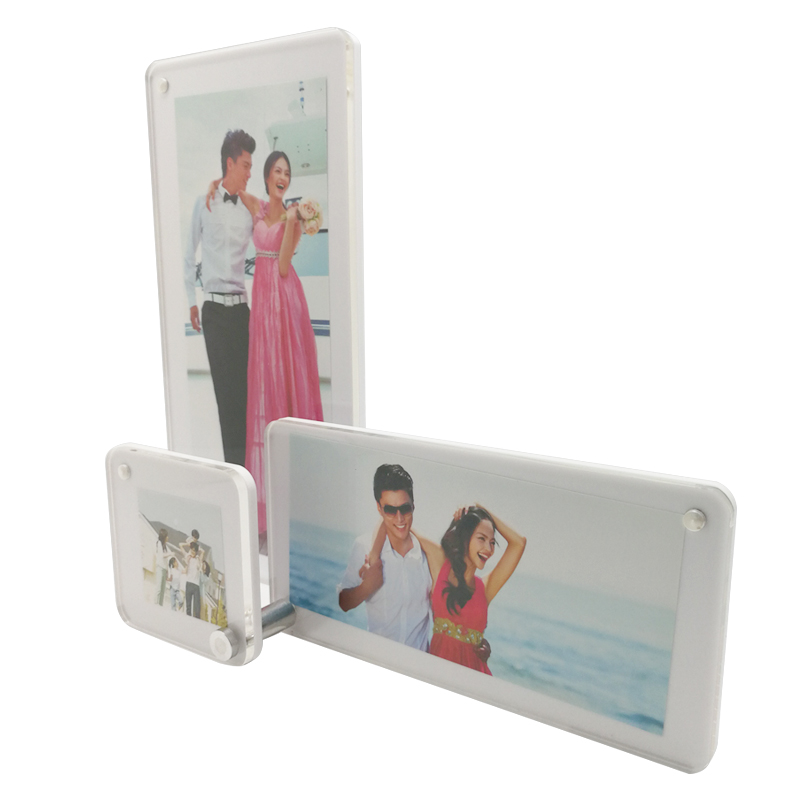 Lucited Acrylic Photo Frames Wedding Gifts