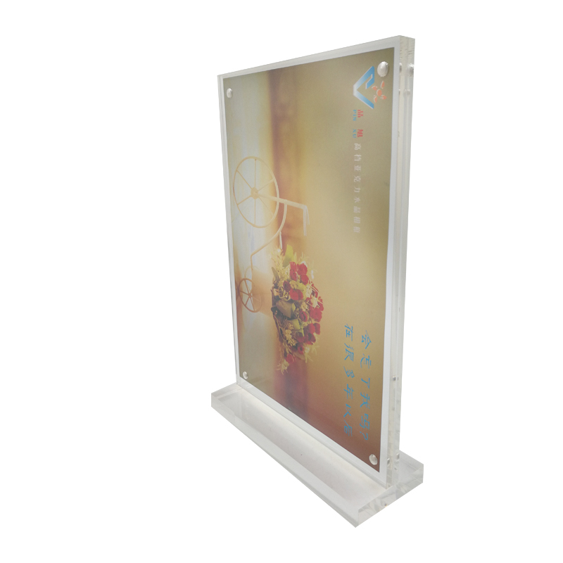 Acrylic Plexiglass Magnetic Photo Frame