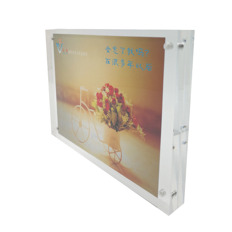 Acrylic Resin Warm Table Acrylic Photo Frames