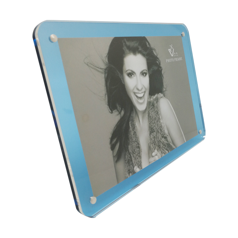 Ploxiglass Photo Frames Light Blue