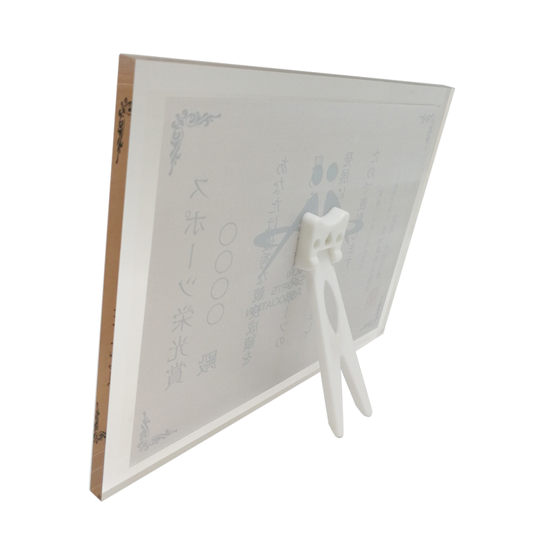 Acrylic Cube Sport Glass Photo Frame