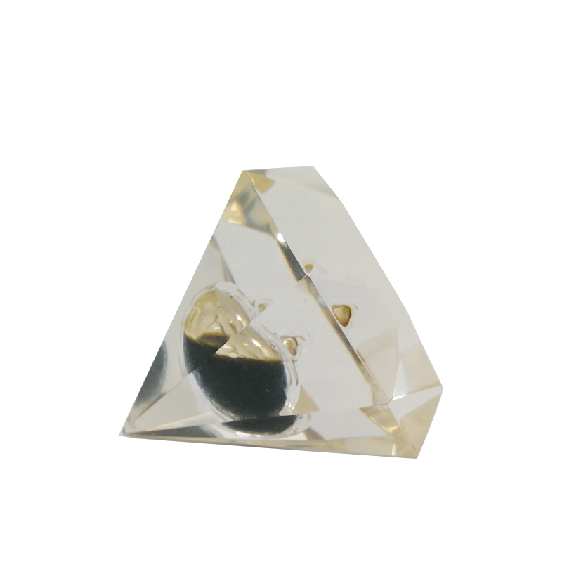 Wholesale Diamond Lucite Oil Drop Paper Weight