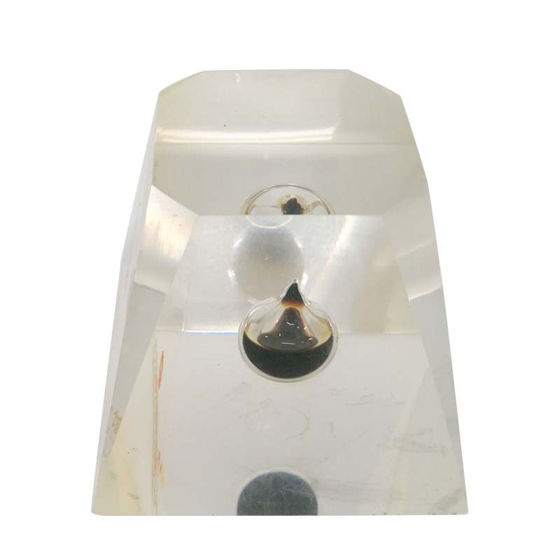 Trapezoid High Concentrational Oil Drop Epoxy Resin Paperweight