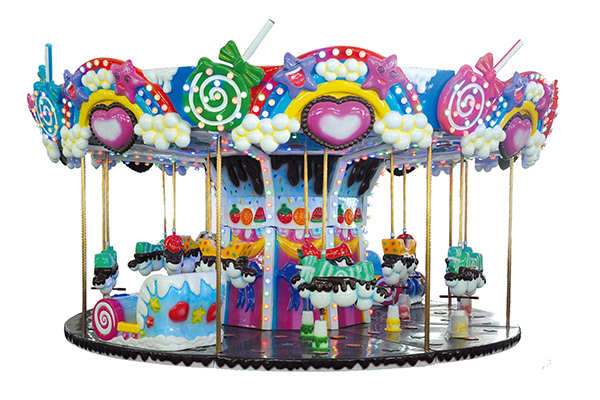 18 people sweetheart carousel