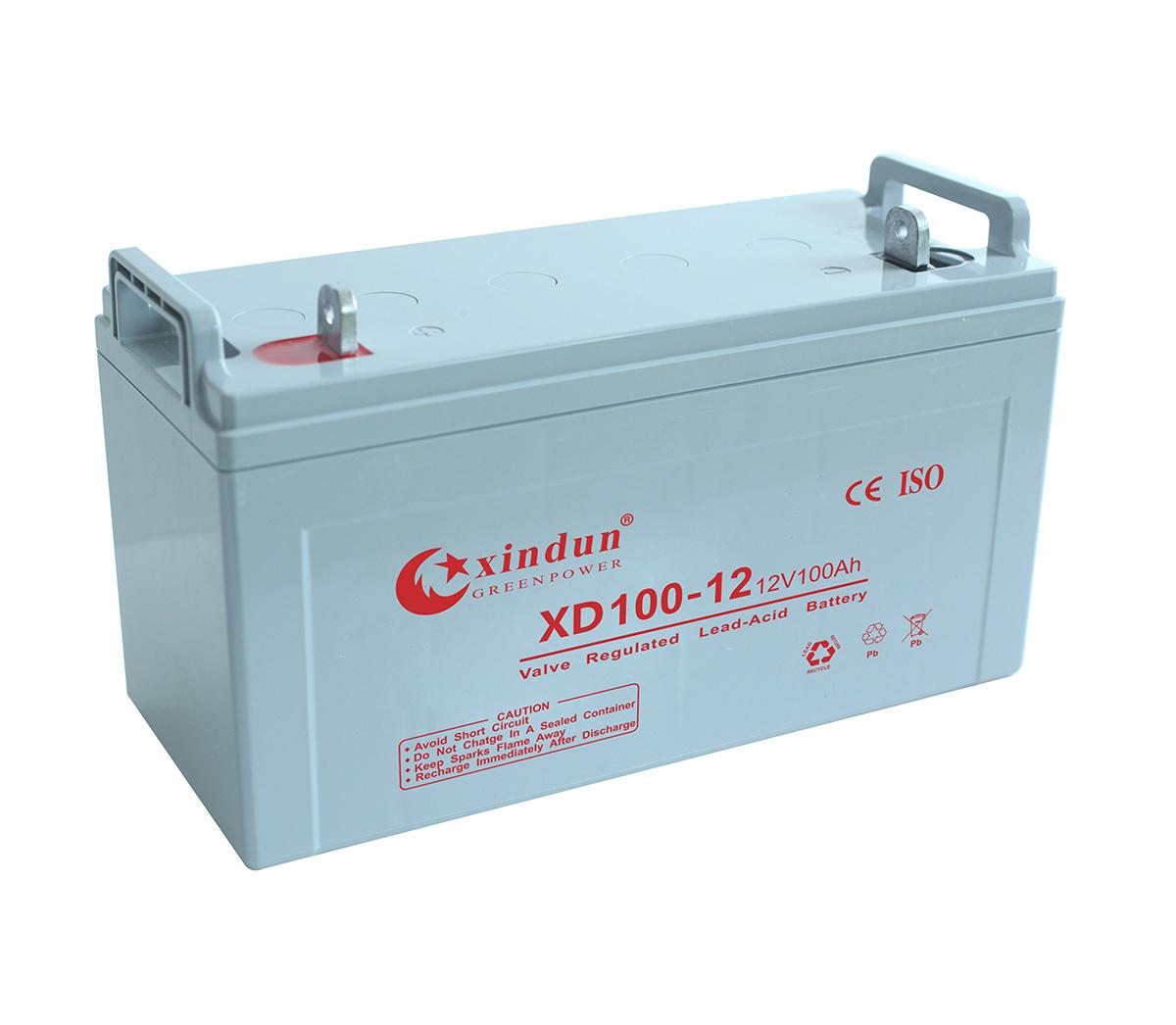 XD100-12蓄电池(长款)