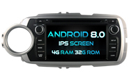 Android 8.0 For TOYOTA YARIS 2012 (W2-V5748)