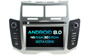 Android 8.0 For TOYOTA YARIS 2005-2011 (W2-V5747)