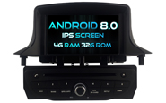 Android 8.0 For RENAULT Megane III 2009-2011 (W2-V5515B)