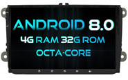 Android 8.0 For VW JETTA/TIGUAN/PASSAT (W2-V5339)