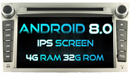 Android 8.0 For SUBARU LEGACY (W2-V5780)
