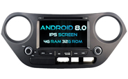 Android 8.0 For HYUNDAI I10 2014-2015 (W2-V5314)