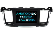 Android 8.0 For PEUGEOT 508 (W2-V5637)