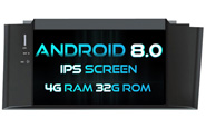 Android 8.0 For CITROEN NEW C4L (W2-V5626)