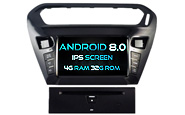 Android 8.0 For CITROEN ELYSEE/PEUGEOT 301 (W2-V5695)