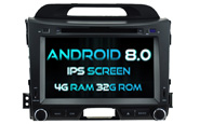 Android 8.0 For KIA SPORTAGE R2011 (W2-V5743)