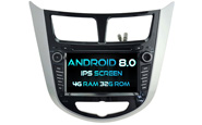 Android 8.0 For HYUNDAI VERNA (W2-V5711)