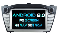Android 8.0 For HYUNDAI IX35 2009-2013 (W2-V5735)